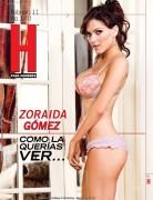 Zoraida Gomez - Hombre Magazine Scans