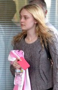 Dakota Fanning - Leaving the gym in Studio City, March 14, 2011