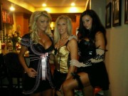 Candice Michelle - Going to Playboy Mansion (facebook/twitter pics)