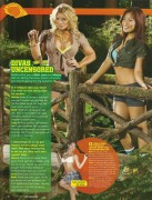 Melina,Beth Phoenix and Lena-WWE Magazine December 2008