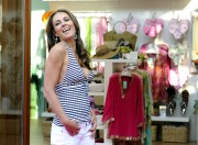 Elizabeth Hurley - Opening of her new  boutique in Fidenza, Italy (5/4/11) x25