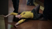 """Alison Brie In Mini Skirt Lying On The Floor From ~ Community ~ Ep. """"Conspiracy Theories and Interior Design"""""""