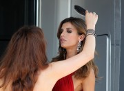 Elisabetta Canalis during a shooting on Roberto Cavalli's boat, 18 May, x147