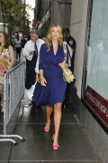 Иванка Трамп, фото 688. Ivanka Trump walks into the Today show in New York City - 18.08.2011, foto 688