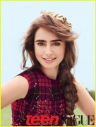 Lily Collins in Teen Vogue Oct.'11