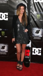 Audrina Patridge - Waiting for Lighting premiere - Hollywood  - April 10 2012